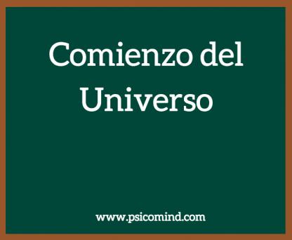 Comienzo del Universo